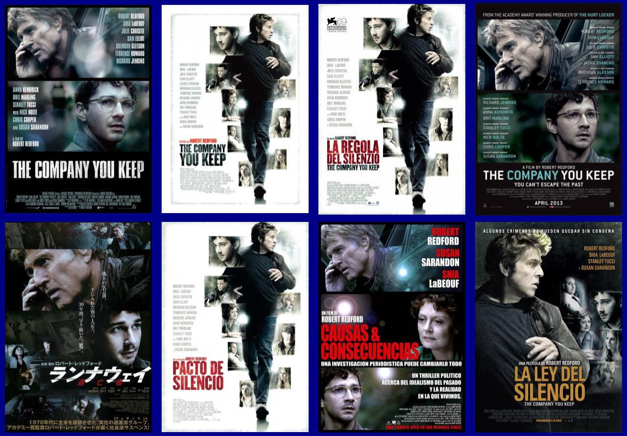 映画『ランナウェイ/逃亡者 (2012) THE COMPANY YOU KEEP』ポスター(4)▼ポスター画像クリックで拡大します。