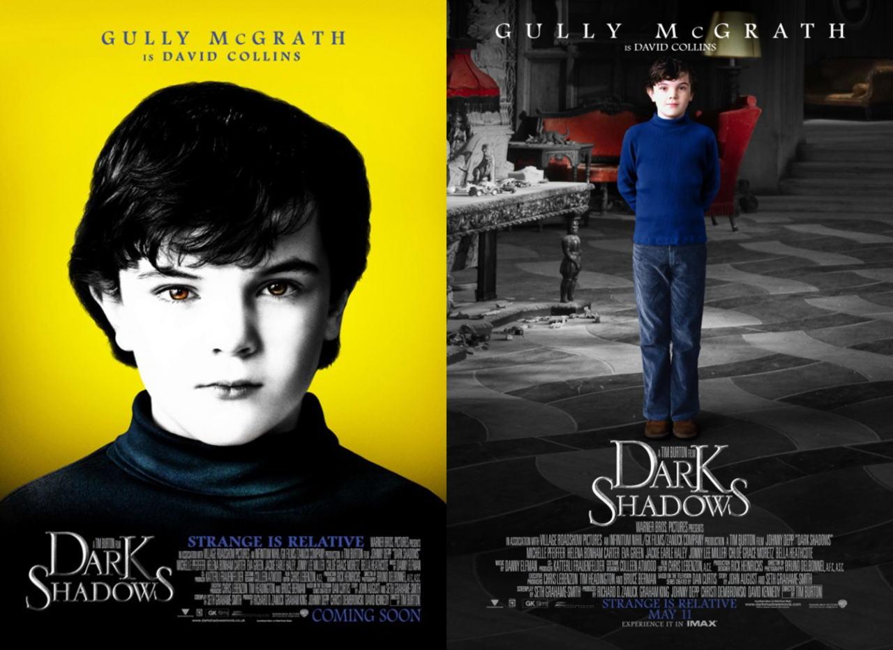 映画『ダーク・シャドウ DARK SHADOWS』ポスター(8)▼ポスター画像クリックで拡大します。