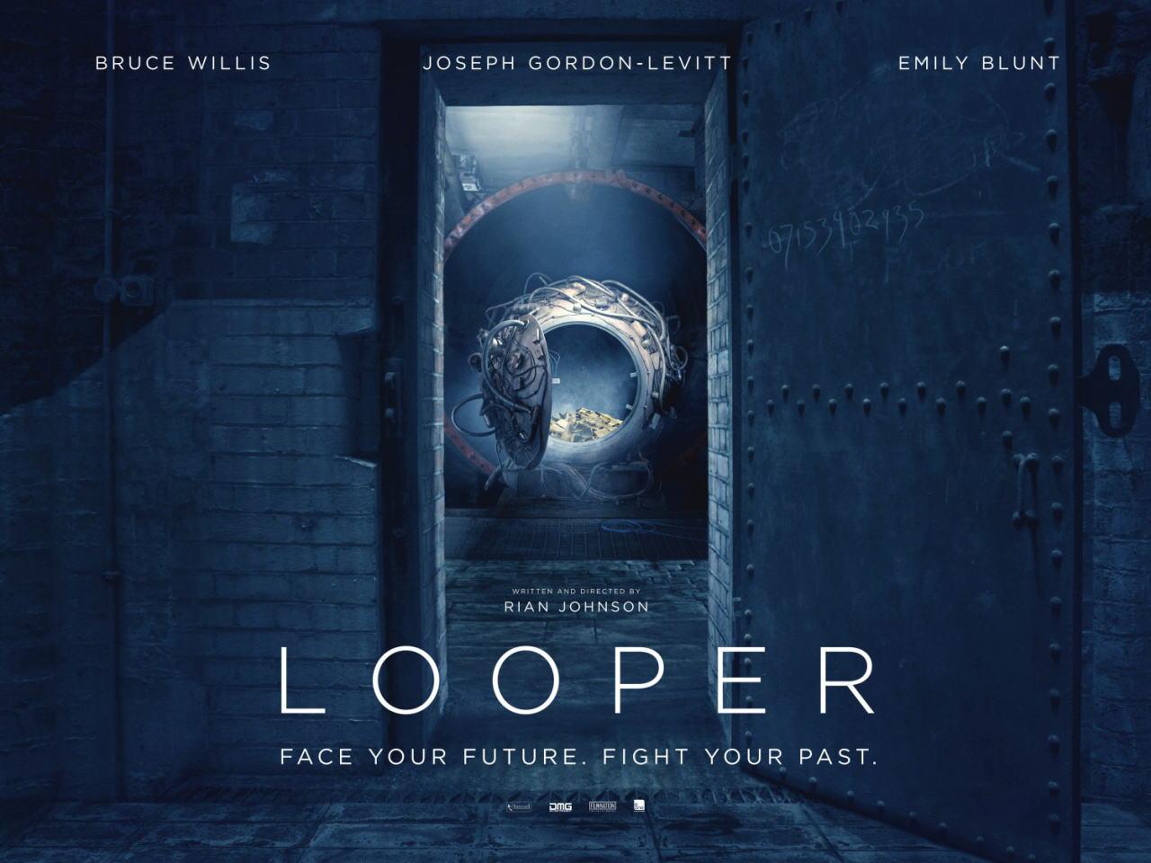 映画『LOOPER/ルーパー LOOPER』ポスター(6)▼ポスター画像クリックで拡大します。