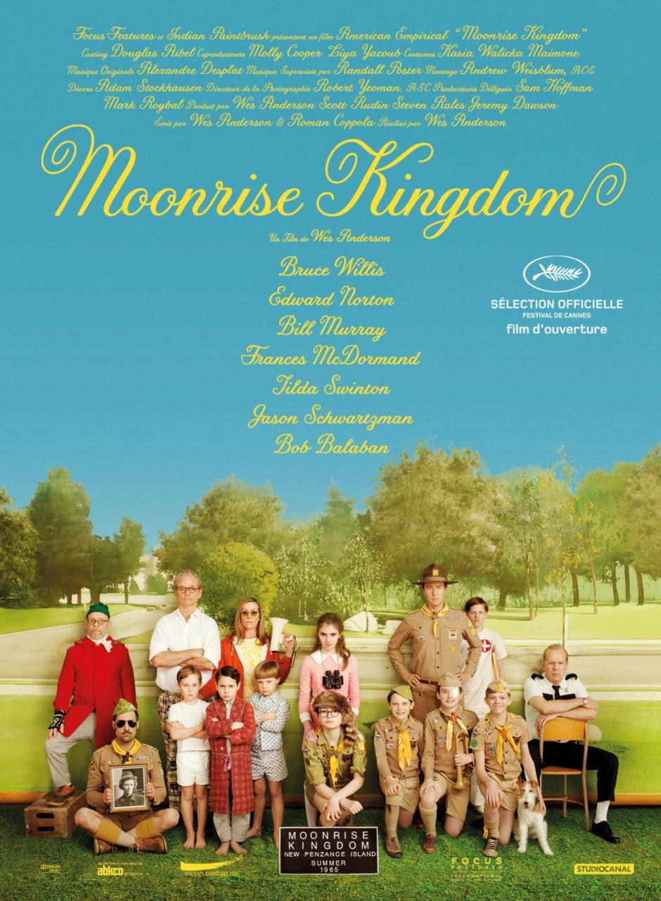 映画『ムーンライズ・キングダム MOONRISE KINGDOM』ポスター(1) ▼ポスター画像クリックで拡大します。