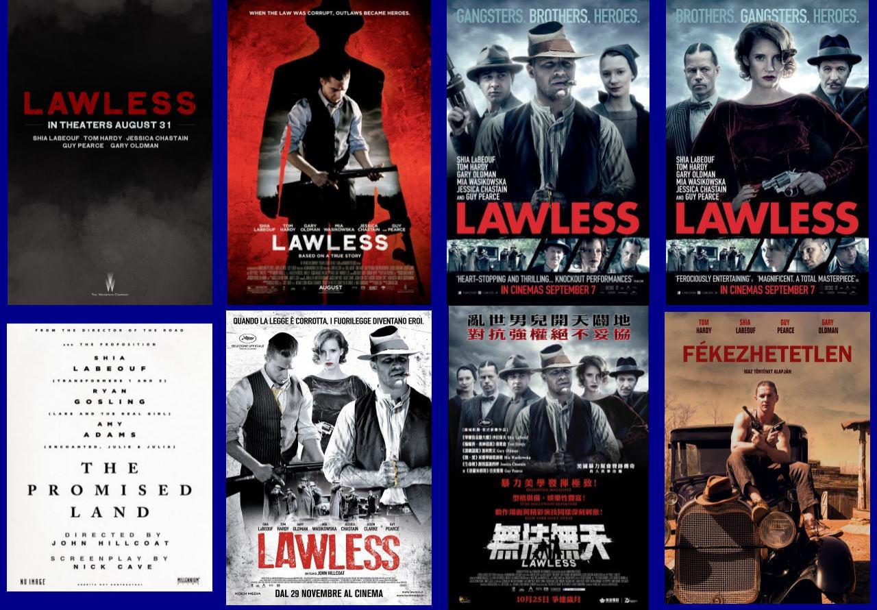 映画『欲望のバージニア (2012) LAWLESS』ポスター(5) ▼ポスター画像クリックで拡大します。