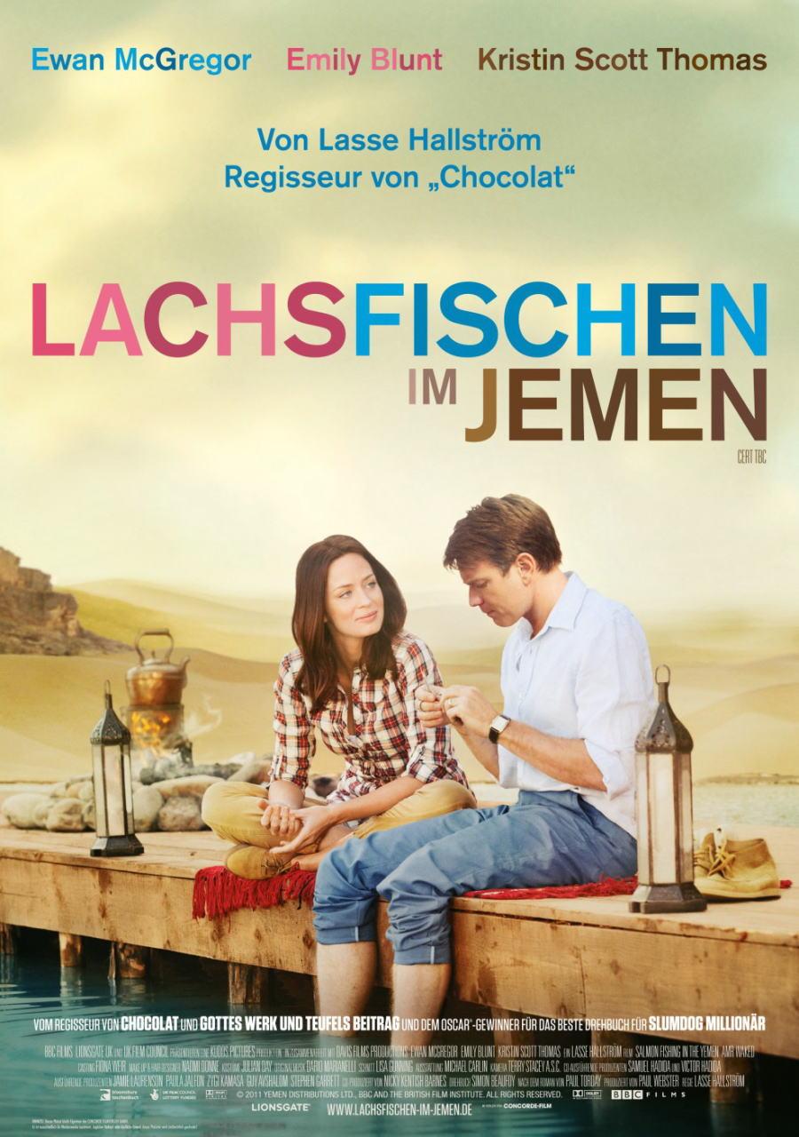 映画『砂漠でサーモン・フィッシング SALMON FISHING IN THE YEMEN』ポスター(2) ▼ポスター画像クリックで拡大します。