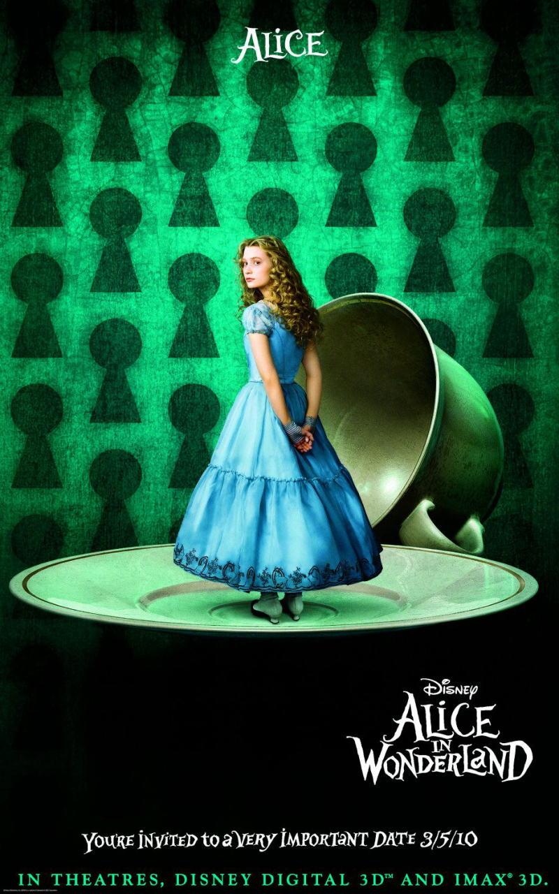 映画『アリス・イン・ワンダーランド ALICE IN WONDERLAND』ポスター(4)