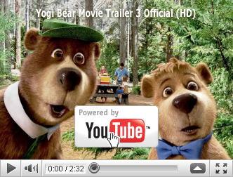 ※クリックでYouTube『ヨギ&ブーブー わんぱく大作戦 YOGI BEAR』予告編へ