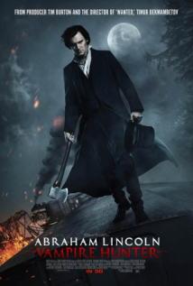 映画『 リンカーン/秘密の書 (2012) ABRAHAM LINCOLN: VAMPIRE HUNTER 』ポスター