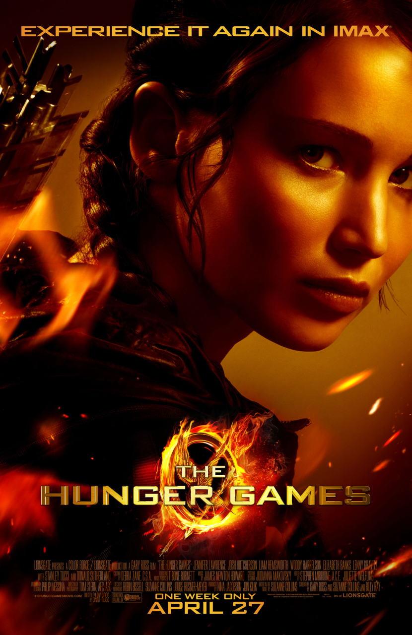 映画『ハンガー・ゲーム THE HUNGER GAMES』ポスター(4) ▼ポスター画像クリックで拡大します。