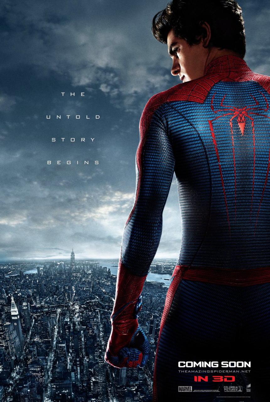 映画『アメイジング・スパイダーマン THE AMAZING SPIDER-MAN』ポスター(4)▼ポスター画像クリックで拡大します。