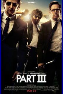 映画『 ハングオーバー!!! 最後の反省会 (2013) THE HANGOVER PART III 』ポスター