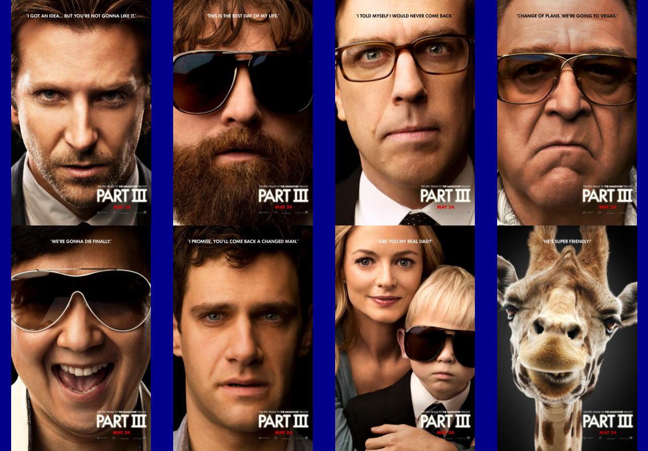 映画『ハングオーバー!!! 最後の反省会 (2013) THE HANGOVER PART III』ポスター(8) ▼ポスター画像クリックで拡大します。