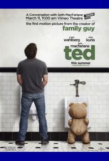 映画『 テッド (2012) TED 』ポスター