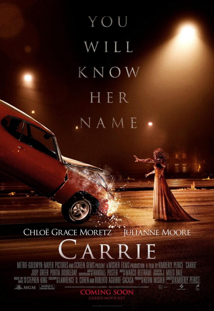 映画『キャリー (2013) CARRIE』ポスター(3)▼ポスター画像クリックで拡大します。