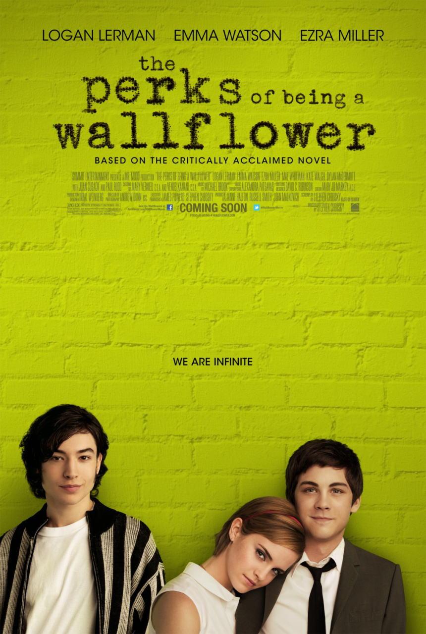 映画『ウォールフラワー (2012) BROKEN CITY』ポスター(1) ▼ポスター画像クリックで拡大します。