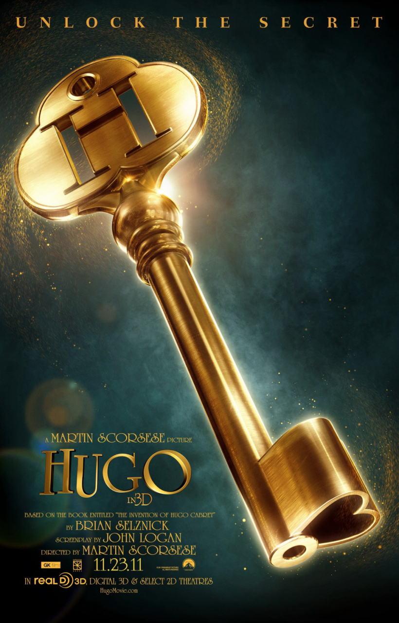 映画『ヒューゴの不思議な発明 HUGO』ポスター(3)