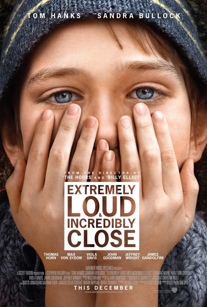 映画『ものすごくうるさくて、ありえないほど近い EXTREMELY LOUD AND INCREDIBLY CLOSE』ポスター(1)