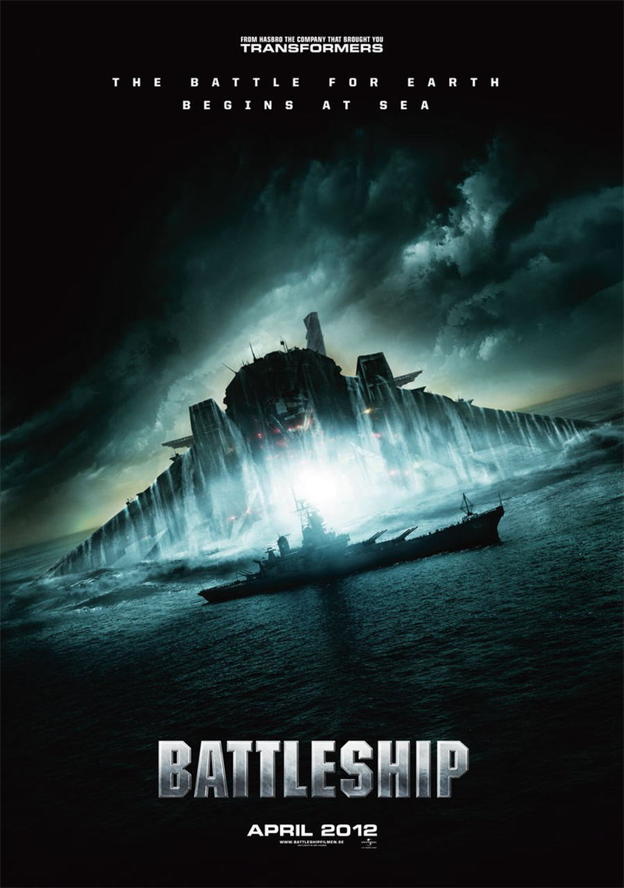 映画『バトルシップ BATTLESHIP』ポスター(2)▼ポスター画像クリックで拡大します。