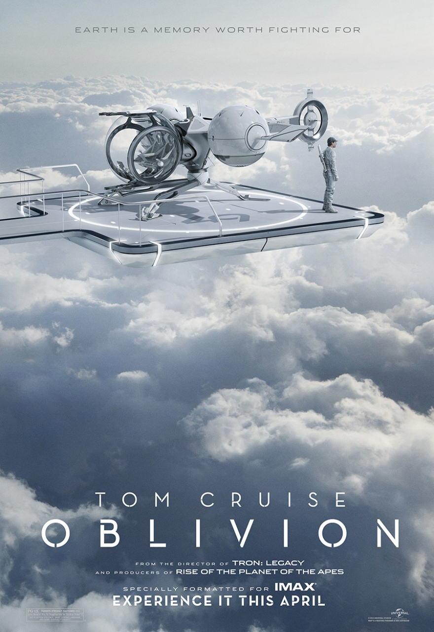 映画『オブリビオン (2013) OBLIVION』ポスター(3)▼ポスター画像クリックで拡大します。