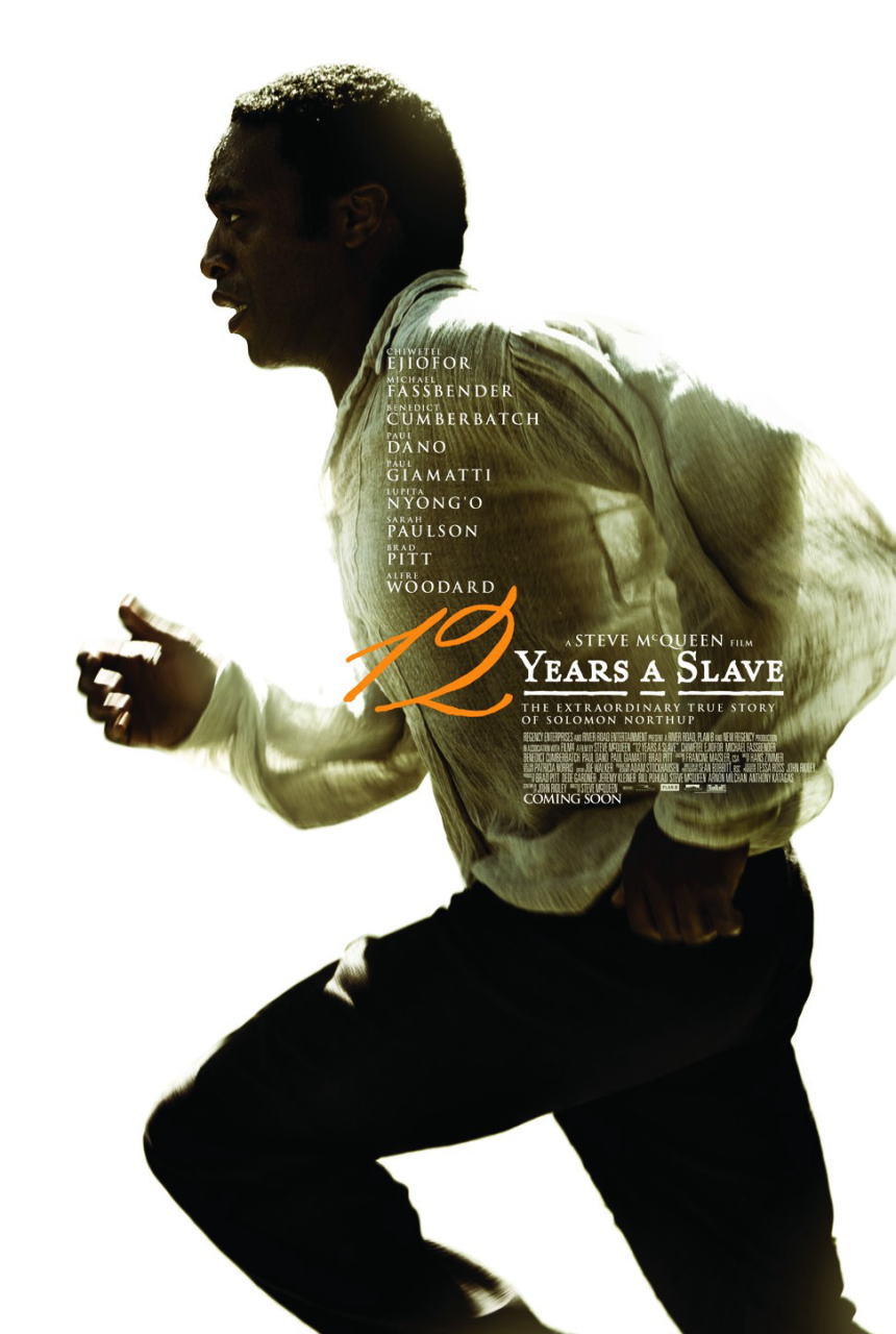 映画『それでも夜は明ける (2013) 12 YEARS A SLAVE』ポスター(1) ▼ポスター画像クリックで拡大します。