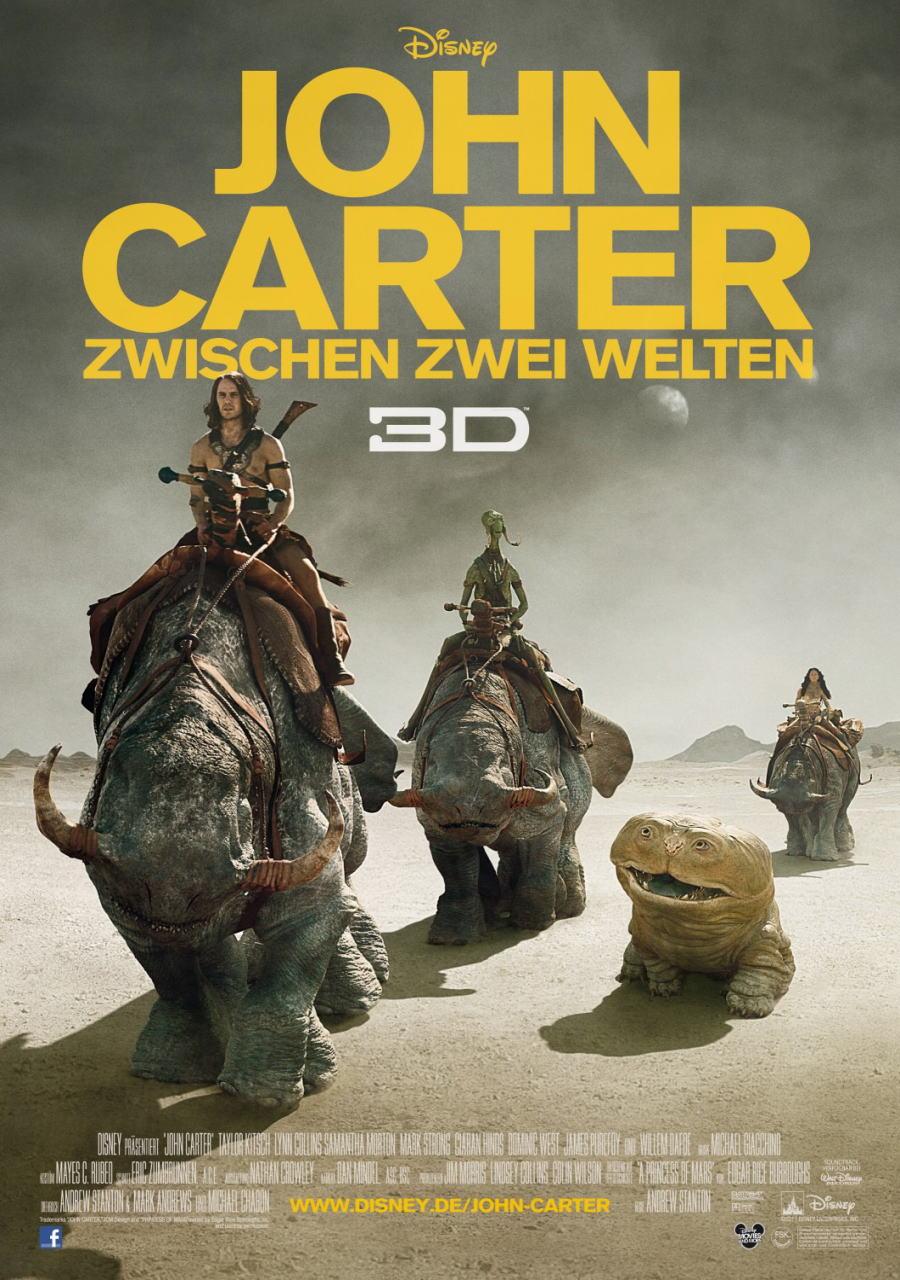 映画『ジョン・カーター JOHN CARTER』ポスター(6)▼ポスター画像クリックで拡大します。