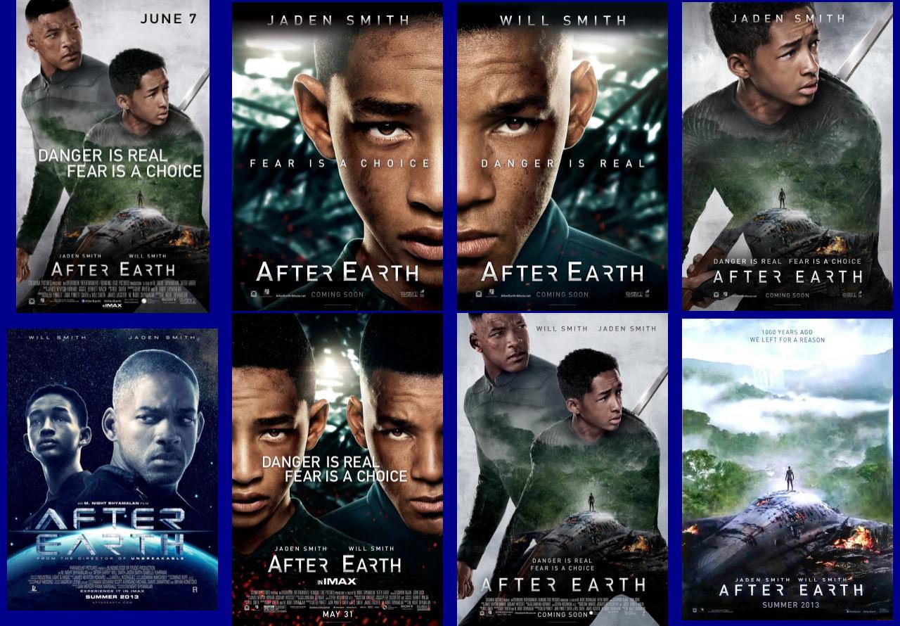 映画『アフター・アース AFTER EARTH』ポスター(5) ▼ポスター画像クリックで拡大します。