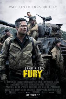 映画『 フューリー (2014) FURY 』ポスター