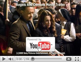 ※クリックでYouTube『天使と悪魔 ANGELS & DEMONS』予告編へ