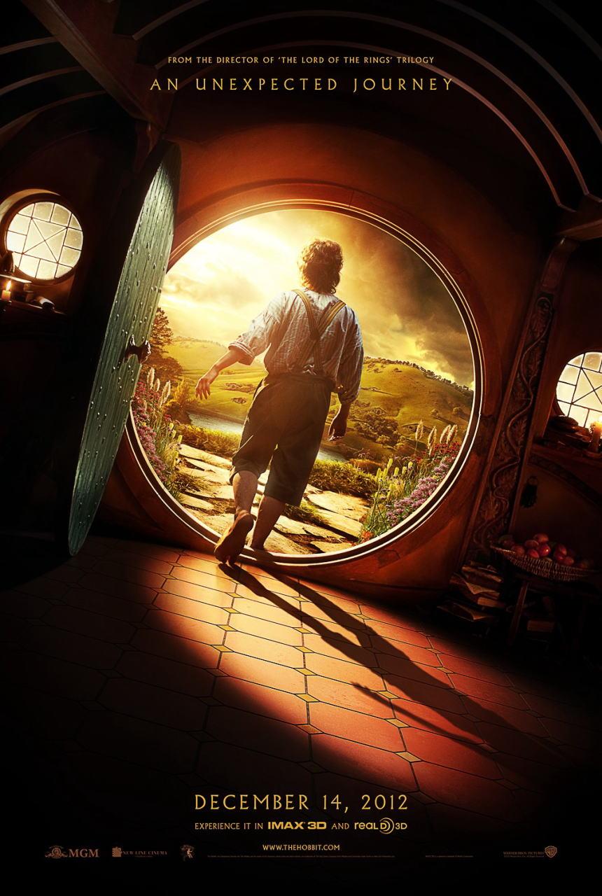 映画『ホビット 思いがけない冒険 THE HOBBIT: AN UNEXPECTED JOURNEY』ポスター(4) ▼ポスター画像クリックで拡大します。
