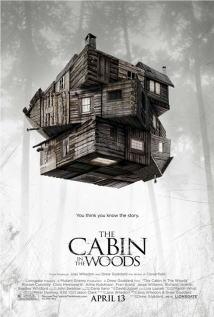 映画『 キャビン (2012) THE CABIN IN THE WOODS 』ポスター