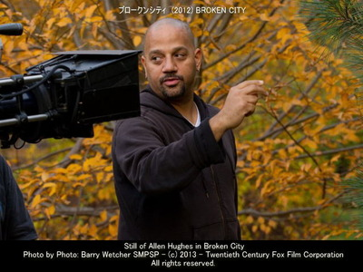 ブロークンシティのスタッフ画像アレン・ヒューズ Allen Hughes 監督▼クリックで640x480pxls画像に拡大します。