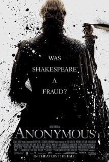 映画『 もうひとりのシェイクスピア (2011) ANONYMOUS 』ポスター