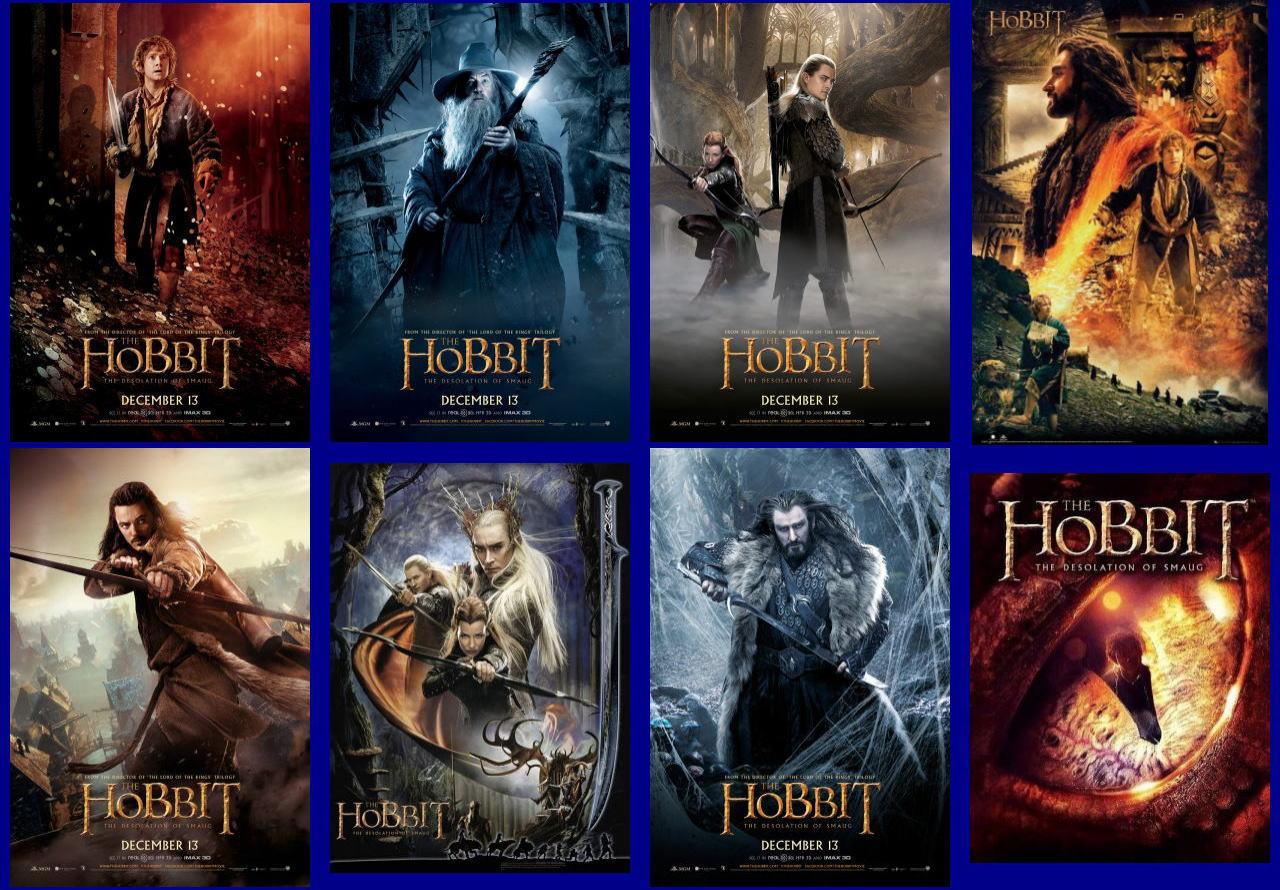 映画『ホビット 竜に奪われた王国 (2013) THE HOBBIT: THE DESOLATION OF SMAUG』ポスター(3)▼ポスター画像クリックで拡大します。