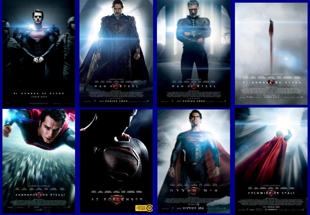 映画『マン・オブ・スティール (2013) MAN OF STEEL』ポスター(8) ▼ポスター画像クリックで拡大します。