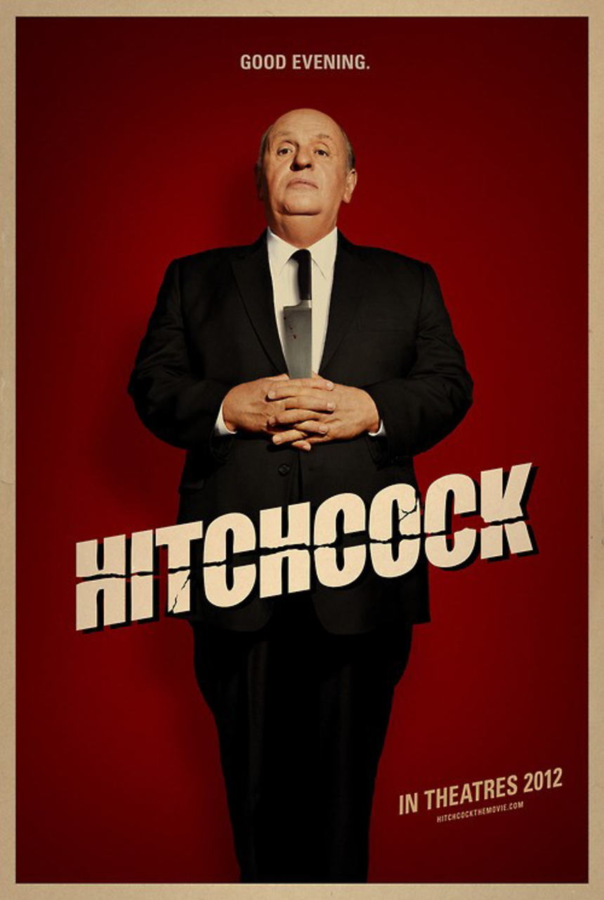 映画『ヒッチコック HITCHCOCK』ポスター(3) ▼ポスター画像クリックで拡大します。