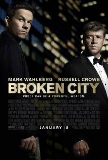 映画『 ブロークンシティ (2012) BROKEN CITY 』ポスター