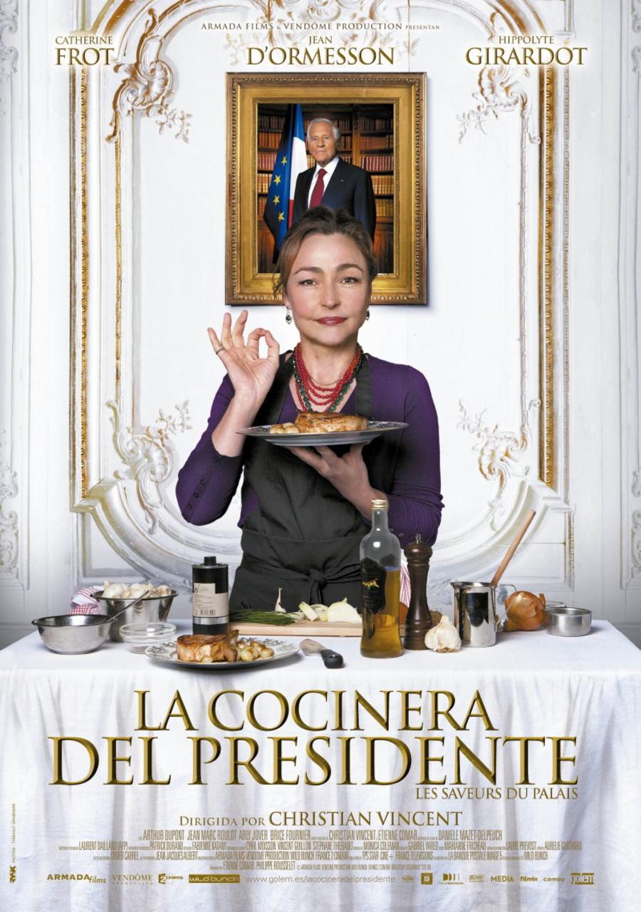 映画『大統領の料理人 (2012) LES SAVEURS DU PALAIS (原題) / HAUTE CUISINE (英題)』ポスター(3)▼ポスター画像クリックで拡大します。