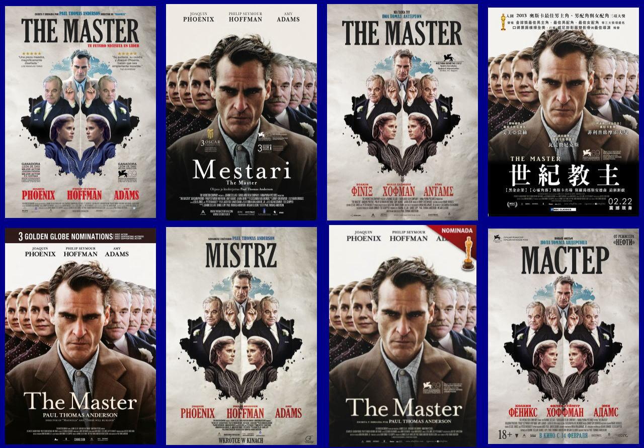 映画『ザ・マスター THE MASTER』ポスター(8)▼ポスター画像クリックで拡大します。