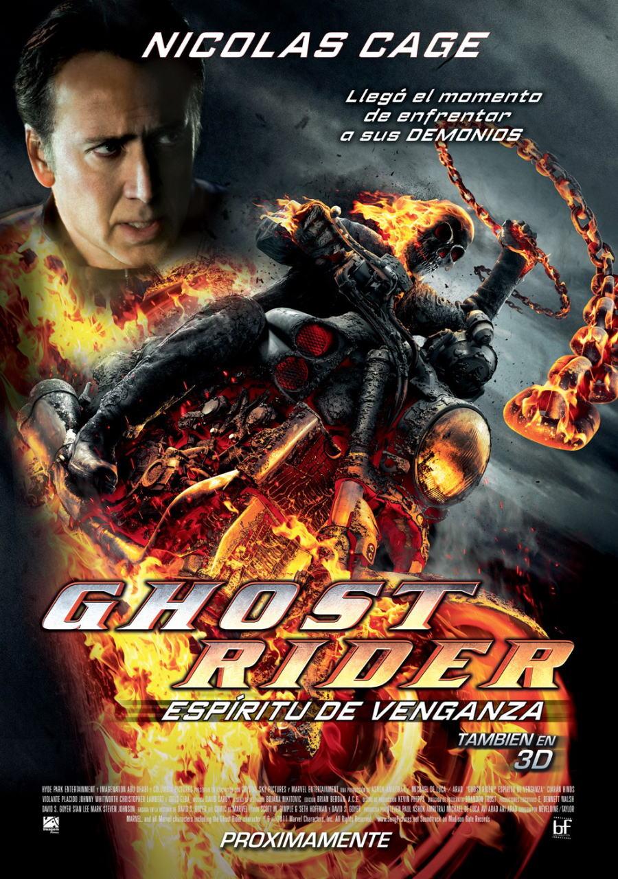 映画『ゴーストライダー2 GHOST RIDER: SPIRIT OF VENGEANCE』ポスター(3)▼ポスター画像クリックで拡大します。