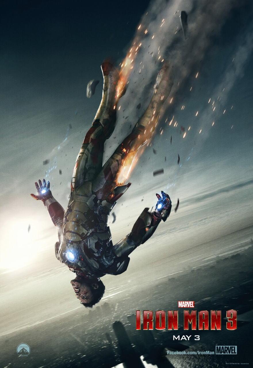 映画『アイアンマン3 (2013) IRON MAN 3』ポスター(5)▼ポスター画像クリックで拡大します。
