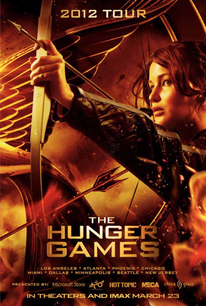映画『ハンガー・ゲーム THE HUNGER GAMES』ポスター(3)▼ポスター画像クリックで拡大します。