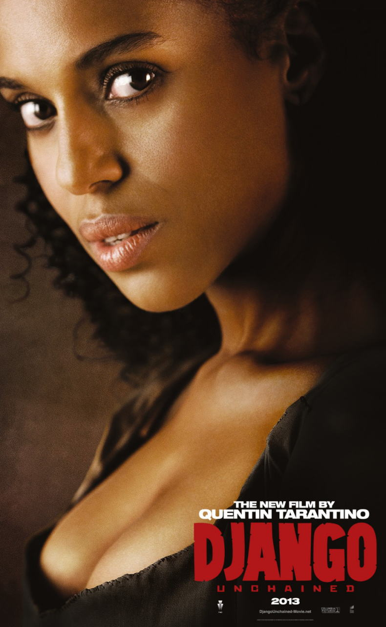映画『ジャンゴ 繋がれざる者 (2012) DJANGO UNCHAINED』ポスター(5) ▼ポスター画像クリックで拡大します。
