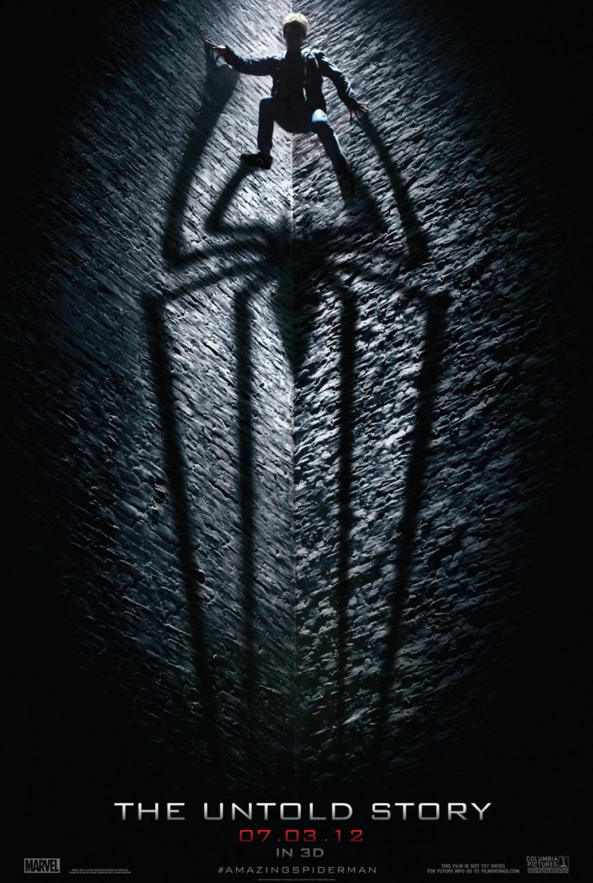 映画『アメイジング・スパイダーマン THE AMAZING SPIDER-MAN』ポスター(6)▼ポスター画像クリックで拡大します。
