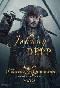 パイレーツ・オブ・カリビアン/最後の海賊ポスター03画像 ▼画像クリックで拡大します@映画の森てんこ森