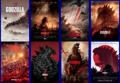 映画『GODZILLA ゴジラ (2014) GODZILLA』ポスター(5) ▼ポスター画像クリックで拡大します。