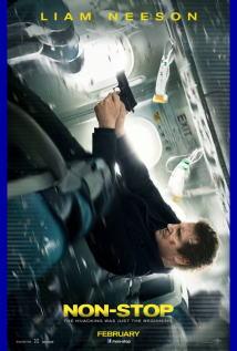 映画『 フライト・ゲーム (2014) NON-STOP 』ポスター
