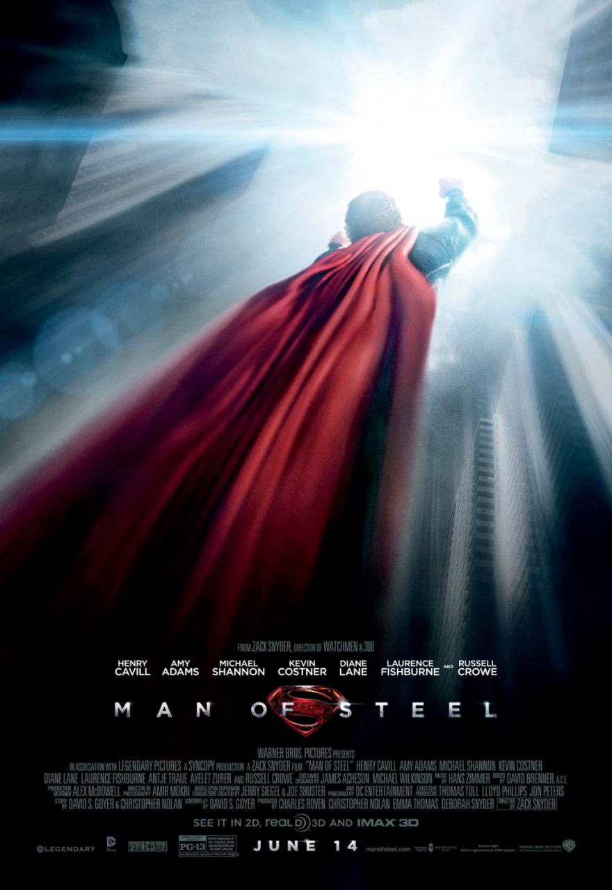 映画『マン・オブ・スティール (2013) MAN OF STEEL』ポスター(4) ▼ポスター画像クリックで拡大します。