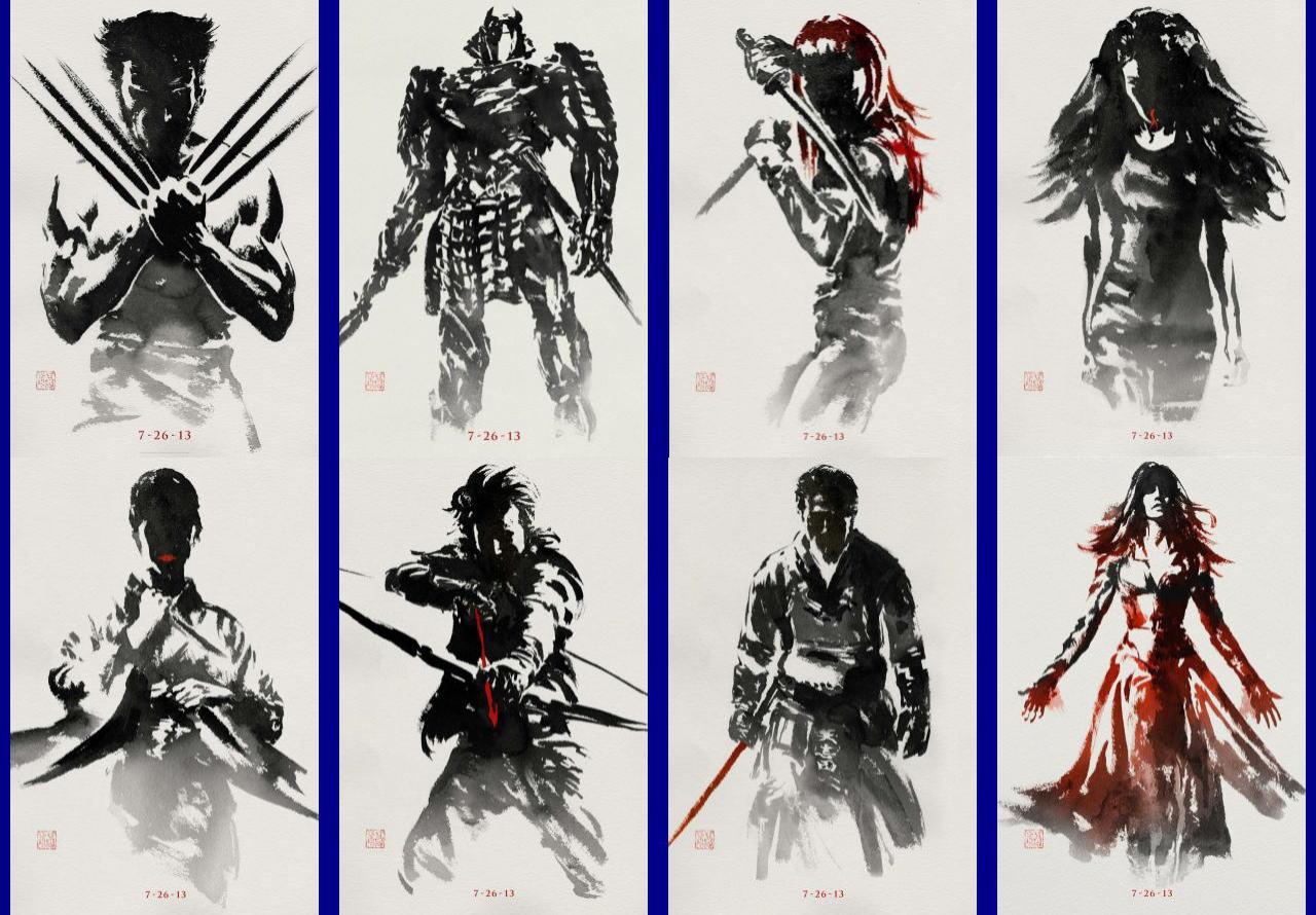 映画『ウルヴァリン:SAMURAI (2013) THE WOLVERINE』ポスター(7)▼ポスター画像クリックで拡大します。