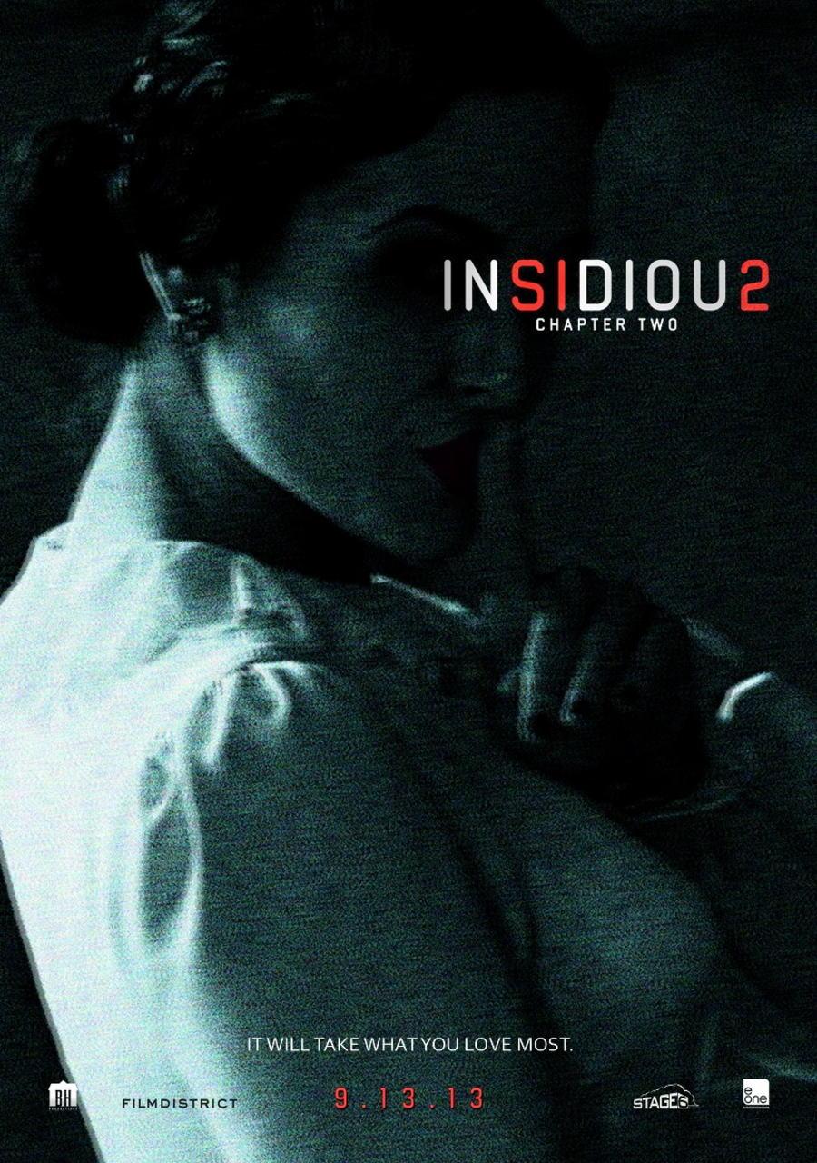 映画『インシディアス 第2章 (2013) INSIDIOUS: CHAPTER 2』ポスター(3) ▼ポスター画像クリックで拡大します。