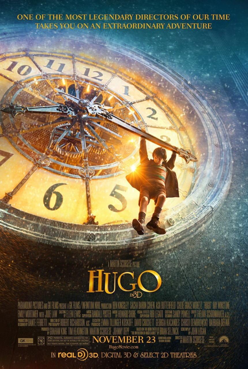 映画『ヒューゴの不思議な発明 HUGO』ポスター(1)