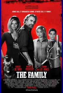 映画『 マラヴィータ (2013) THE FAMILY (英題) / MALAVITA (仏題) 』ポスター