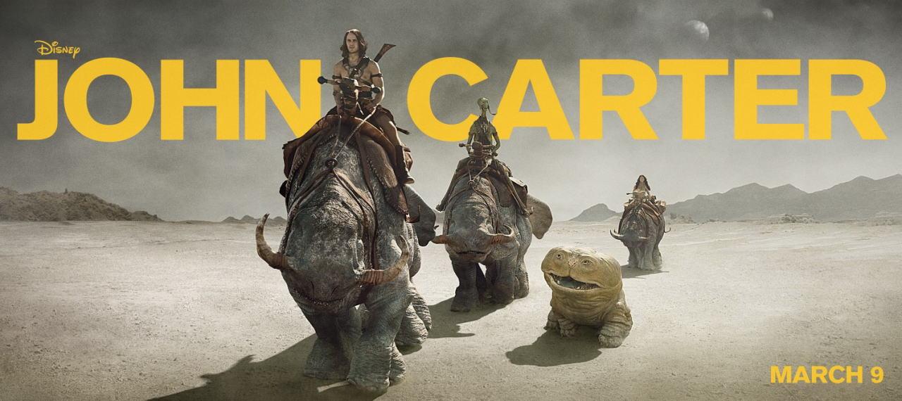 映画『ジョン・カーター JOHN CARTER』ポスター(5)▼ポスター画像クリックで拡大します。