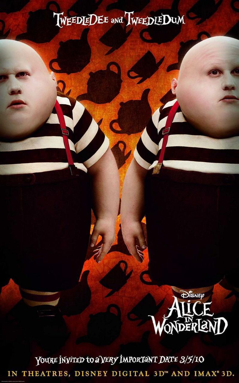 映画『アリス・イン・ワンダーランド ALICE IN WONDERLAND』ポスター(7)
